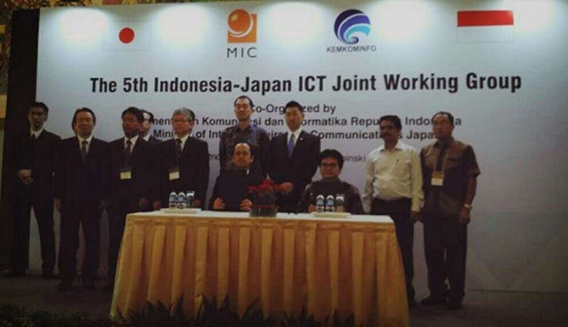 Indonesia - Jepang Kerjasama di Bidang TIK