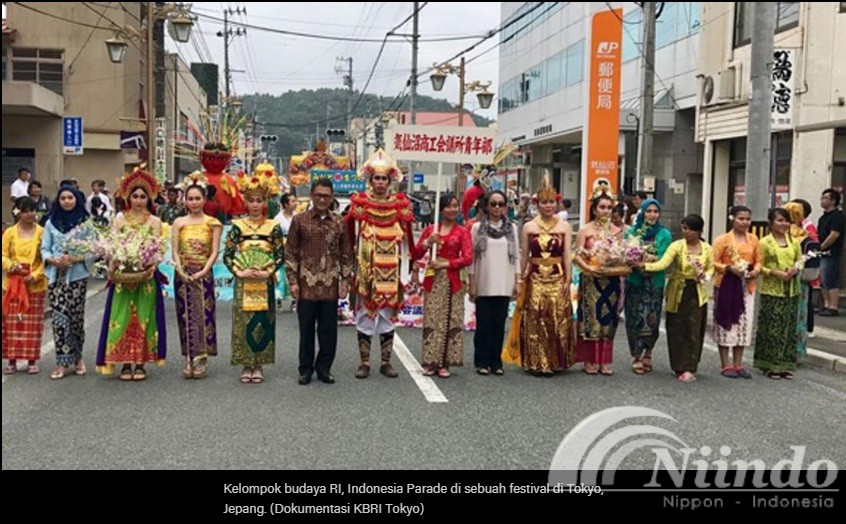 festival minato matsuri warga RI di Jepang