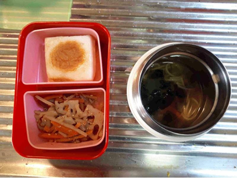 menu makan siang anak dari Lhaksmi Dewayani