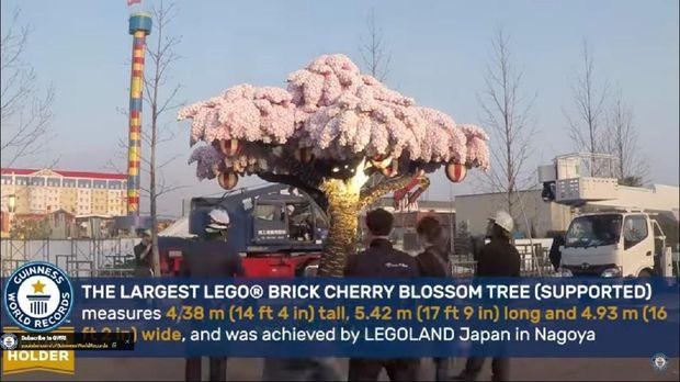 Pohon Sakura dari Lego Cuma Ada di Jepang - Niindo